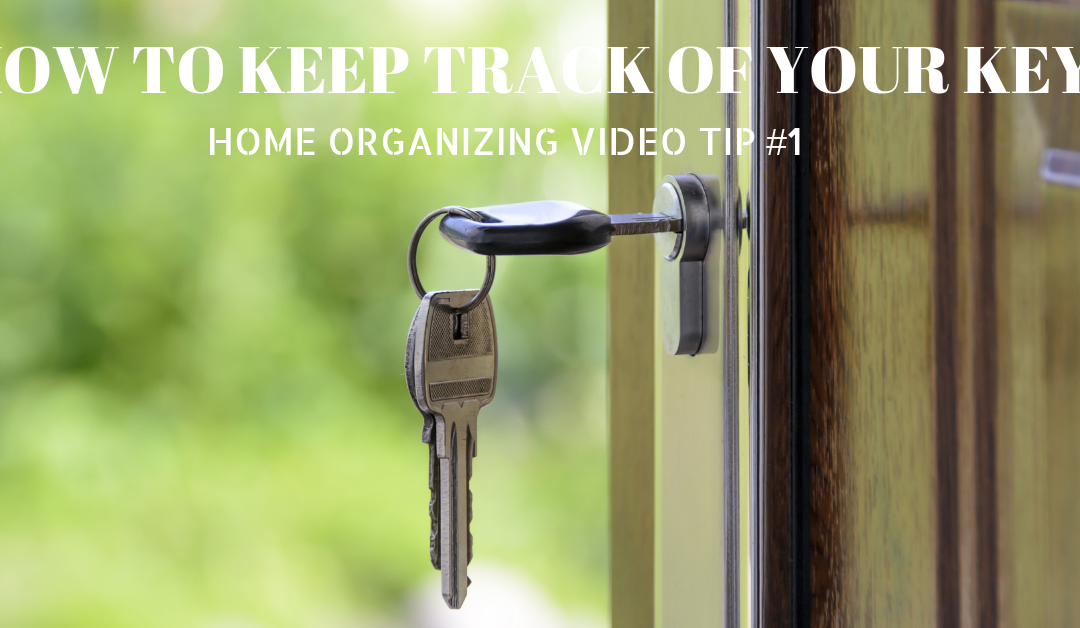 The Key to  Finding Your Keys