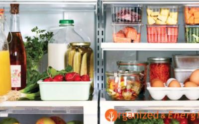Ten Quick Tactics To Organize Your Refrigerator