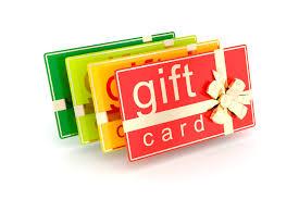 gift certifcates, money, finances