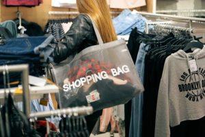 shopping, women, consumerism, clothing