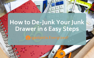 How to De-Junk Your Junk Drawer in 6 Easy Steps