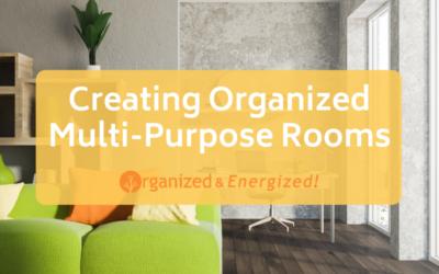 Creating Organized Multi-Purpose Rooms