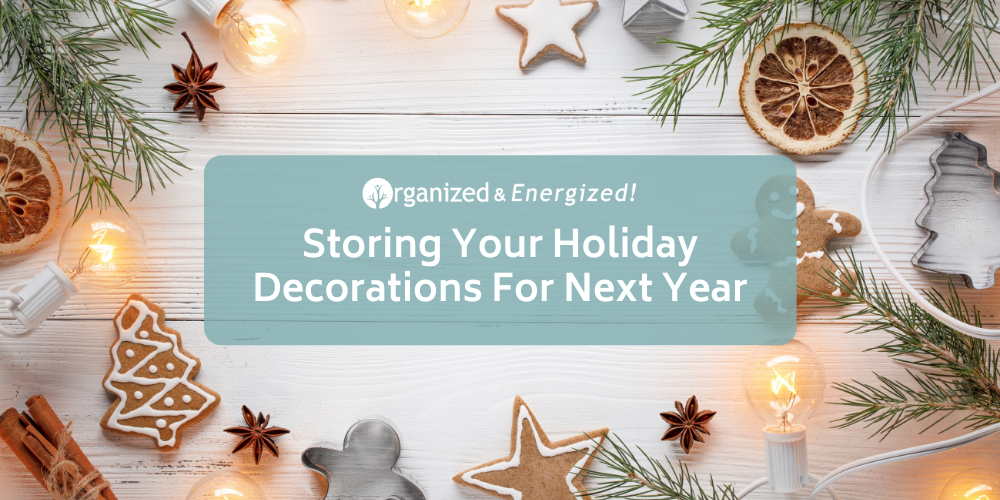 Storing Your Holiday Decorations For Next Year